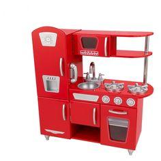 Amazon.com : KidKraft Vintage Kitchen In Blue : Toy Kitchen Sets : Toys U0026  Games | Baby Girl | Pinterest | Kidkraft Vintage Kitchen, Toy Kitchen Set  And ...