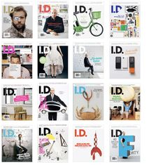 I.D. International Design Magazine 1954 -2009
