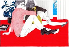 Carine Brancowitz Art Illustration