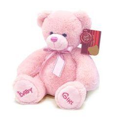 Baby Girl Soft and Cuddly Pink Teddy Bear Asin: B00GLTQR7E Ean: 5055847401072
