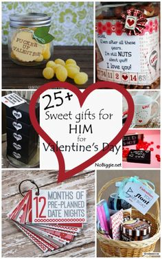 25 sweet gifts for him for valentines day - Valentine Day Ideas For Boyfriend