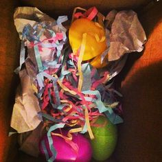On-The-Go #Hair bands in Easter Eggs! Happy Easter!