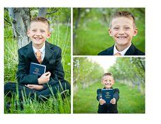 baptism photo shoot, great announcement/invite