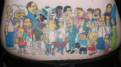 Simpson's Tattoo (Whole Cast)