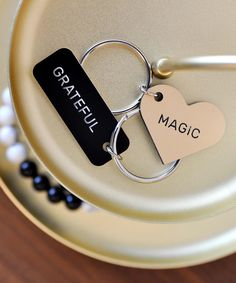 """Swell Made Co. on Instagram: """"Two NEW keytags just dropped into the shop. MAGIC and GRATEFUL. Words that speak to you with their optimism. . On #bellletstalk day, I…"""" Optimism, Dog Tag Necklace, Grateful, Drop, Magic, Let It Be, Words, Bracelets, Shopping"""