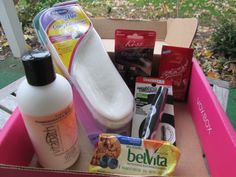 A peek at my Rose VoxBox goodies from @Influenster