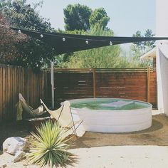 Stock tank pool | The Brick House: