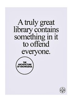 A truly great library...