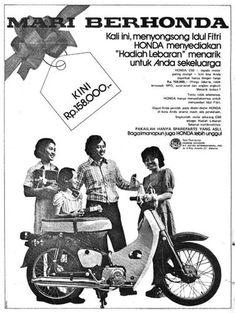 iklan honda jadul 31 Vintage Advertisements, Vintage Ads, Vintage Posters, Vintage Photos, Honda Cub, Motorcycle Rocking Horse, Old Scool, Honda Motors, Old Commercials