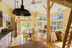 This circa-1850 historic barn features miles of nearby hiking trails, a play loft for children, and spectacular views of the Vermont countryside. Rent it!   - HouseBeautiful.com