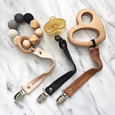 Super cool pacifier clips