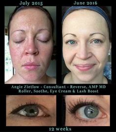 WOW!!! Check out fellow consultant Angie's amazing results... And check out those Lashes!!! Love that it all comes with a 60 day empty bottle money back guarantee if not satisfied! I will sweeten the deal and pay your one time $19.95 free shipping and 10% off all orders!
