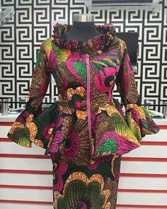 Contemporary Ankara Styles For African Ladies. Hello Ladies Is an Amazing month and we bring you some beautiful designs to start your month,Ladies here are 2020 Contemporary Ankara Styles For African Ladies To Rock. African Fashion Ankara, Latest African Fashion Dresses, African Dresses For Women, African Print Dresses, African Print Fashion, African Attire, African Wear, Ankara Skirt And Blouse, Ankara Dress Styles