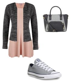 """"""""""" by alva-hillborg ❤ liked on Polyvore featuring Phase Eight, Poem, Converse, women's clothing, women, female, woman, misses and juniors"""
