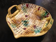 Vintage Italian Pottery Dish by Moderndesign20 on Etsy, $24.00