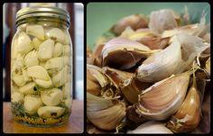 Forkable » Refridgerator Pickled Garlic Sweet Garlic Pickles Recipe, Waffle Mix Recipes, Freezing Vegetables, Veggies, Clean Recipes, Healthy Recipes, Canning Pickles, Pickled Garlic, Canned Food Storage