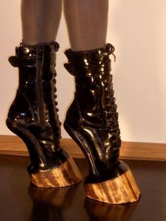 I would never wear these because OUCH but holy crap are they awesome!!