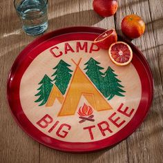 Fishs Eddy Serving Tray - Scout Patch   West Elm