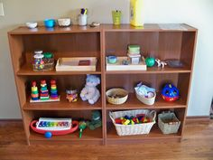 Montessori toy theories. Actually a pin on Sensory Tables. Good ideas.