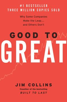 "Kevan grabbed ""Good to Great: Why Some Companies Make the Leap...And Others Don't"" by Jim Collins"
