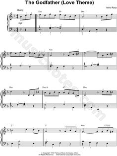 Trumpet - The Godfather - Theme Song - Sheet Music, Chords, & Vocals - Google otsing