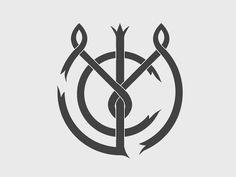 Современные и стильные монограммные логотипы   Beloweb.ru