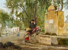 Bernardo Ferrándiz. El señor cura, s.f. Colección Carmen Thyssen-Bornemisza en préstamo gratuito al Museo Carmen Thyssen Málaga