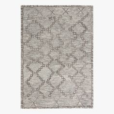 Our hand tufted Satya Grey Wool Rug is a modern take on traditional rug designs. Sophisticated shades of grey and a gently aged look.