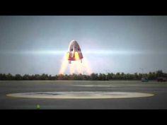 Capsule dragon de space x : Les parachutes testés avec succès