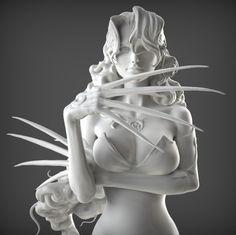 Full metal alchemist - Lust - Picture  (3d, fantasy, girl, woman)