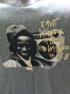 Vintage Stussy Ain't Where Ya From T Shirt by GailsVintageGarden, $18.00