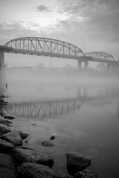 Fog over the Cumberland River Music City Nashville, Visit Nashville, Nashville Tennessee, Cumberland River, 2nd City, Down South, Civil Engineering, Best Cities, Nature Photos