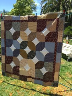 pattern :10 minute blocks by Susanne McNeill