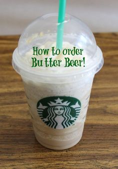 is this true???????   Harry Potter Fans- How to Order Butter Beer at Starbucks! So cool!.
