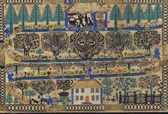 Swiss Folk Art by Johann-Jakob Hauswirth – Livemaster Zurich, Village Festival, Contemporary Decorative Art, Sad Stories, Naive Art, Perfect World, Global Art, Madame, Paris