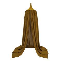 Numero 74 Gold Cotton Canopy Tent | Talo Interiors