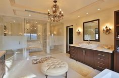 Kourtney Kardashian Dream House: A look into one of the nine perfect bathrooms. Source: Trulia