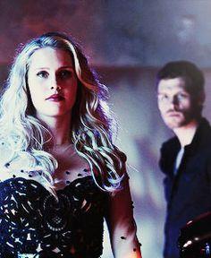 Rebekah and Klaus / Claire Holt / Joseph Morgan / the originals   Tumblr