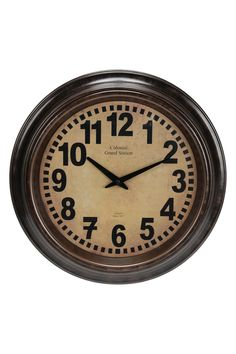 29 99 Online Price Target Cutout Station Wall Clock