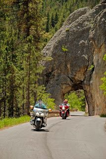 motorcycles in yellowstone national park | Badlands National Park is a favorite cruise for many rally attendees.
