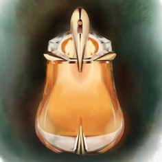 Thierry Mugler Alien essence absolue #illustration #perfume #alien