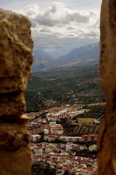 Vista de Jaén desde el castillo