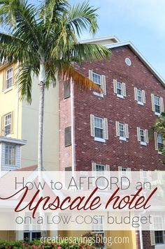 Have you ever stayed in a nasty motel room because it`s all you thought you could afford? These 5 secrets will show you how to book an upscale hotel on a low-cost budget, including where to find the best discounts!