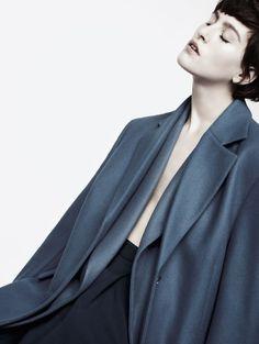 inspiration for www.duefashion.com  Centilmen |Athena Wilson by Horst Diekgerdes for Vogue Turkey October 2013.