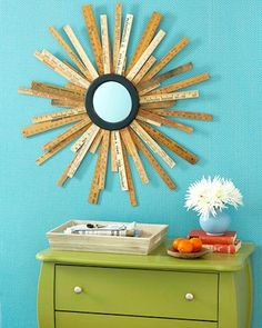 14 yardstick crafts! Stuff to make with old yardsticks that is SUPER cool.