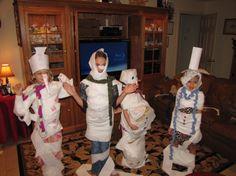 2 Snowman Games - DONE! So cute and fun!