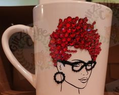 Coffee Love, Coffee Mugs, Wine Glass Crafts, Different Shades Of Pink, Makeup Brush Holders, Wedding Glasses, Secondary Color, Makeup Brushes, Gifts In A Mug