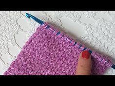 Tığişi Düz Örgü /Punto Jersey Crochet - YouTube Bargello, Crochet Stitches, Fingerless Gloves, Arm Warmers, Crochet Baby, Make It Yourself, Youtube, Blog, Tunisian Crochet