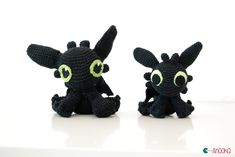 Amigurumi Toothless - FREE Crochet Pattern / Tutorial