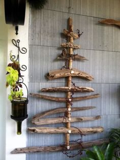 Recent Up-cycled projects with wood, driftwood and metal ! - JUNKMARKET Style